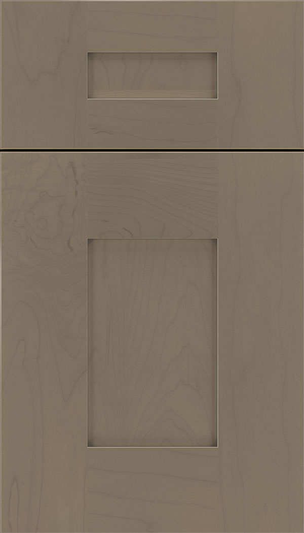 Newhaven 5pc Maple shaker cabinet door in Winter with Pewter glaze