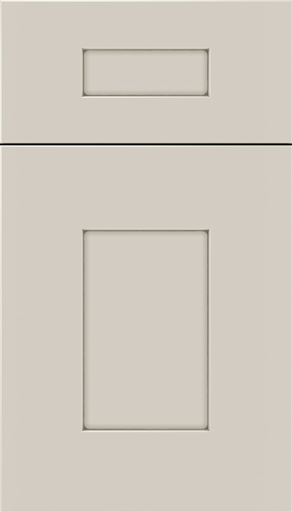 Newhaven 5pc MDF shaker cabinet door in Cirrus with Pewter glaze