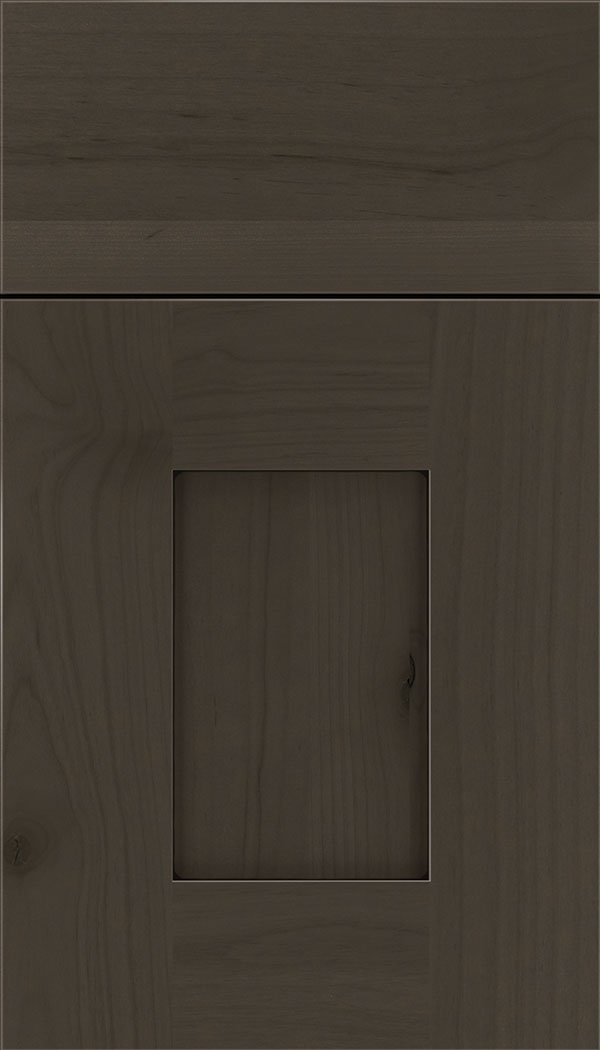 Newhaven Alder shaker cabinet door in Thunder with Black glaze