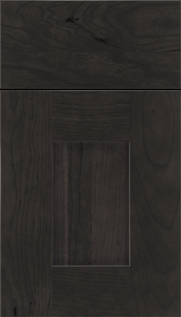 Newhaven Cherry shaker cabinet door in Charcoal