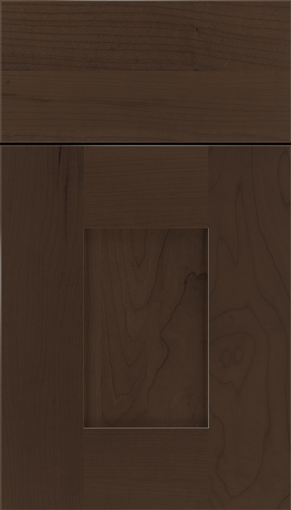 Newhaven Maple shaker cabinet door in Cappuccino