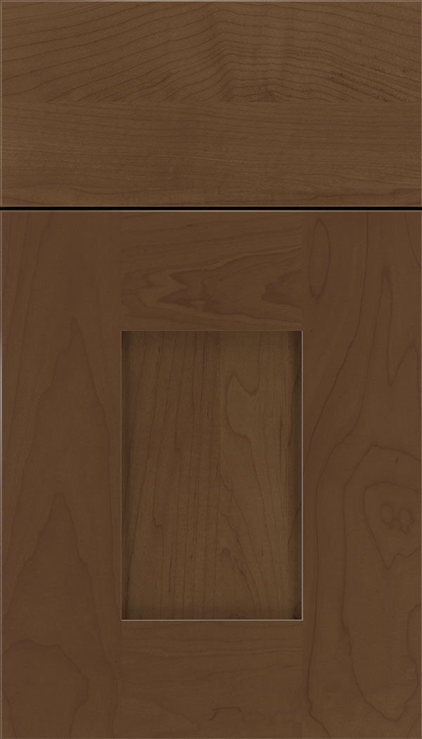 Newhaven Maple shaker cabinet door in Sienna