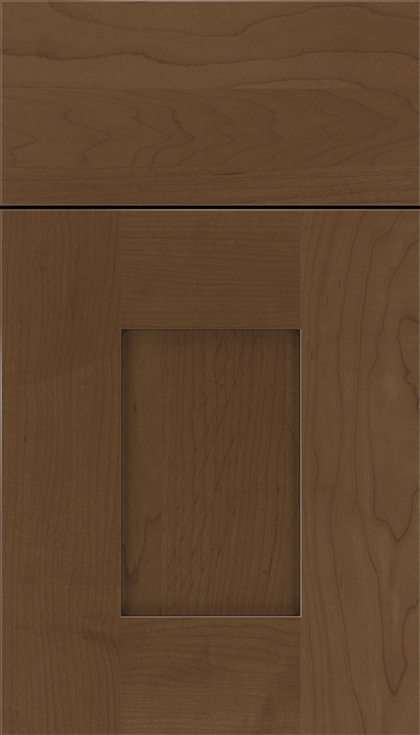 Newhaven Maple shaker cabinet door in Sienna with Mocha glaze