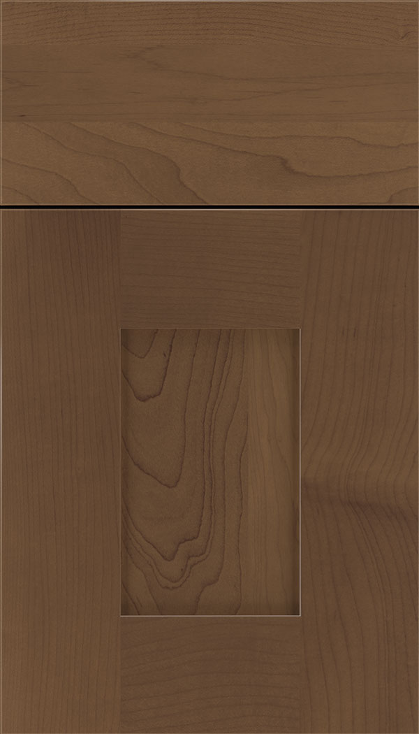 Newhaven Maple shaker cabinet door in Toffee