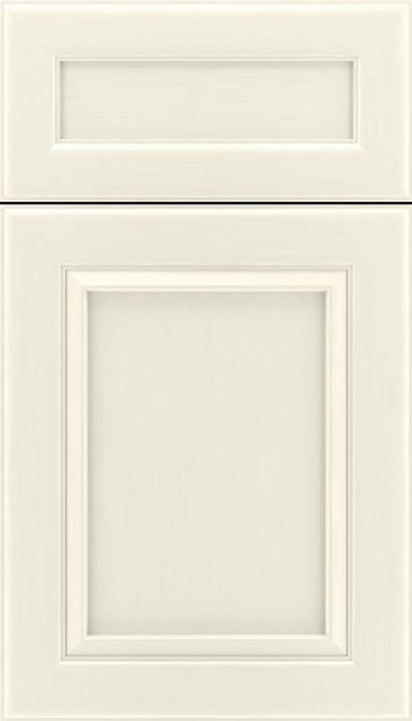 Paloma 5pc Maple flat panel cabinet door in Millstone