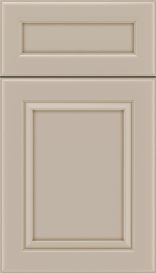 Paloma 5pc Maple flat panel cabinet door in Moonlight
