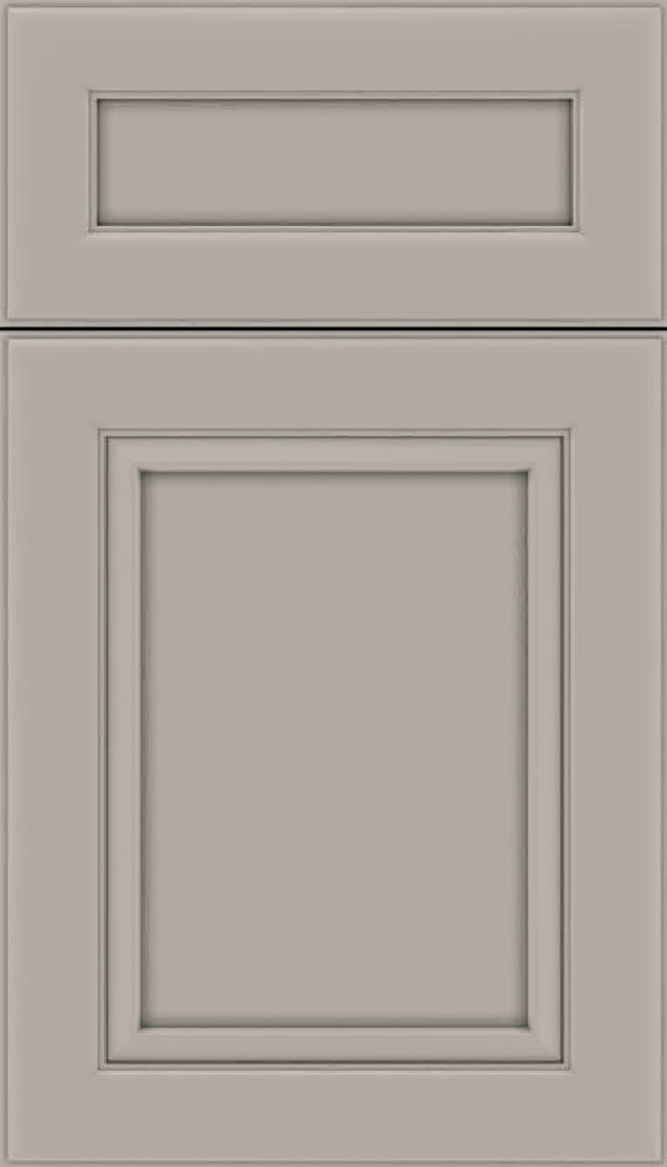 Paloma 5pc Maple flat panel cabinet door in Nimbus