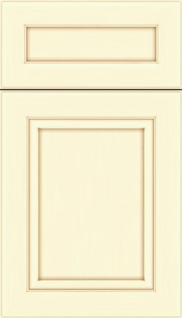 Paloma 5pc Maple flat panel cabinet door in Palomino