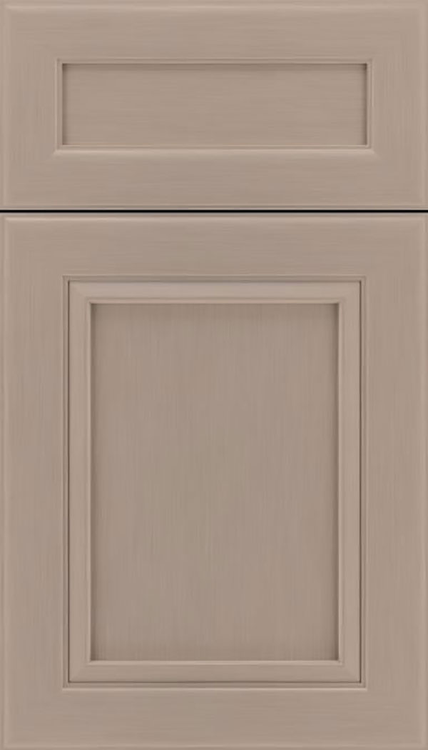 Paloma 5pc Maple flat panel cabinet door in Portabello