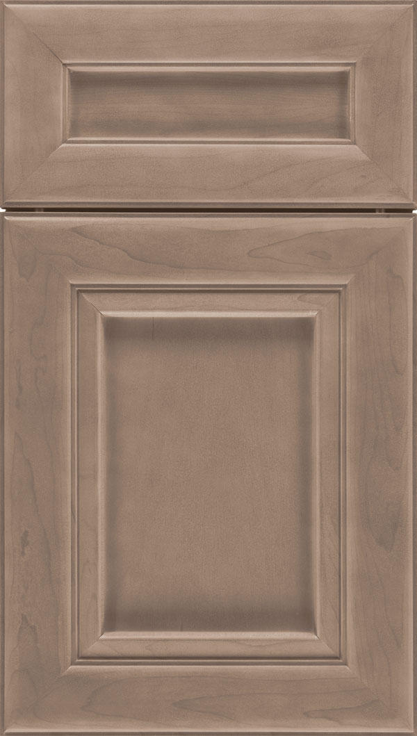 Paloma 5pc Maple flat panel cabinet door in Winter