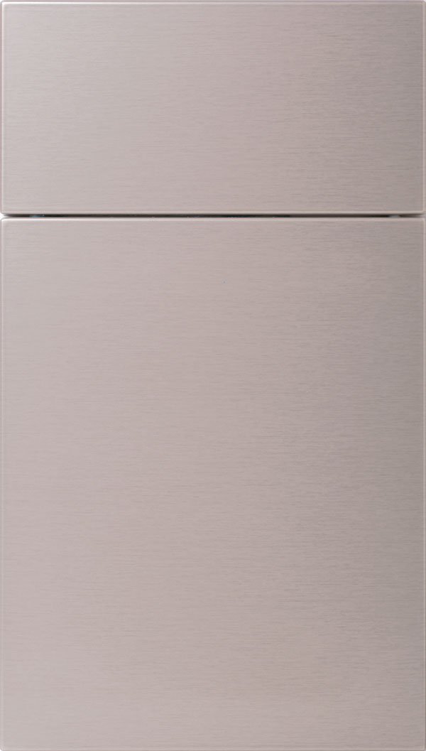 Pamli Thermofoil slab cabinet door in Prosecco