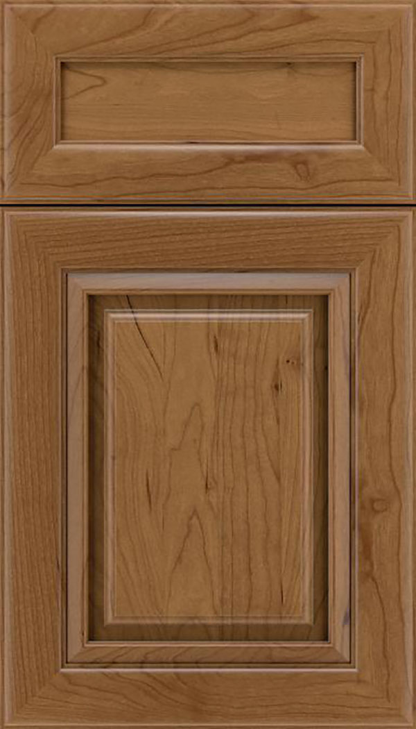 Paxson 5pc Cherry raised panel cabinet door in Tuscan