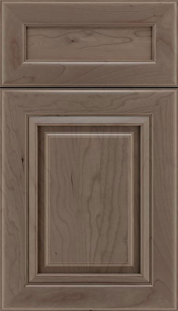 Paxson 5pc Cherry raised panel cabinet door in Winter