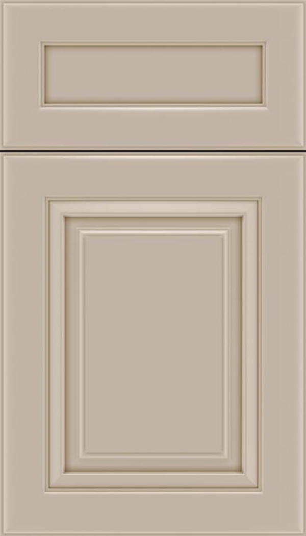 Paxson 5pc Maple raised panel cabinet door in Moonlight