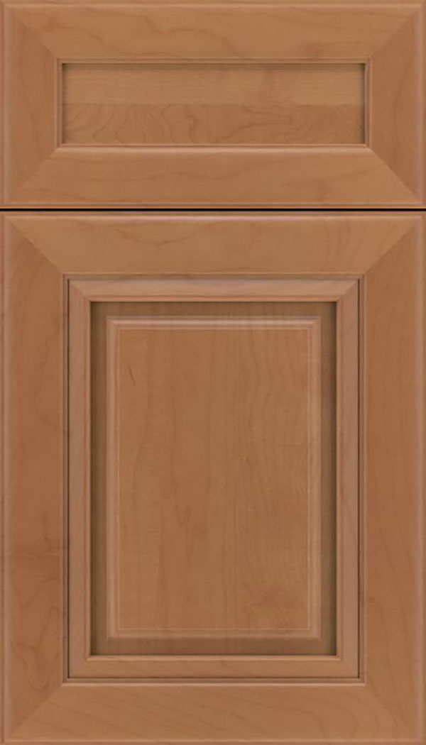 Paxson 5pc Maple raised panel cabinet door in Nutmeg