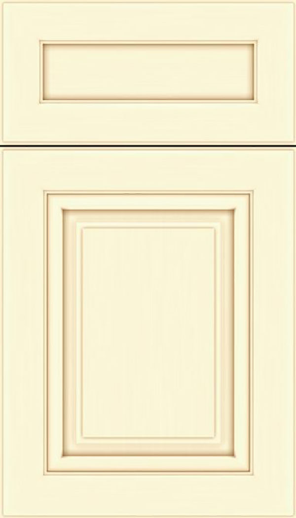 Paxson 5pc Maple raised panel cabinet door in Palomino