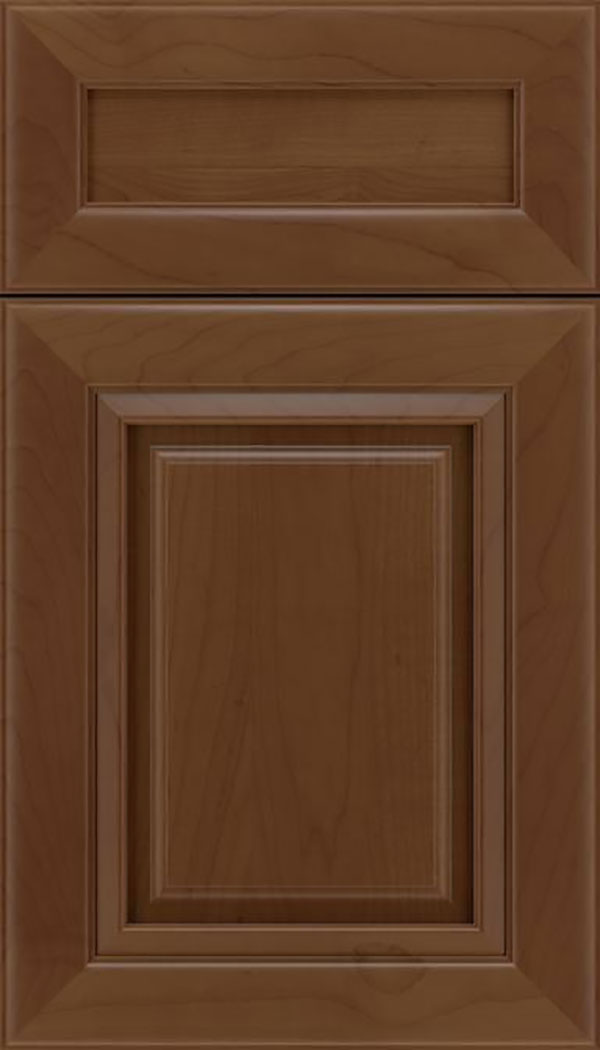 Paxson 5pc Maple raised panel cabinet door in Sienna