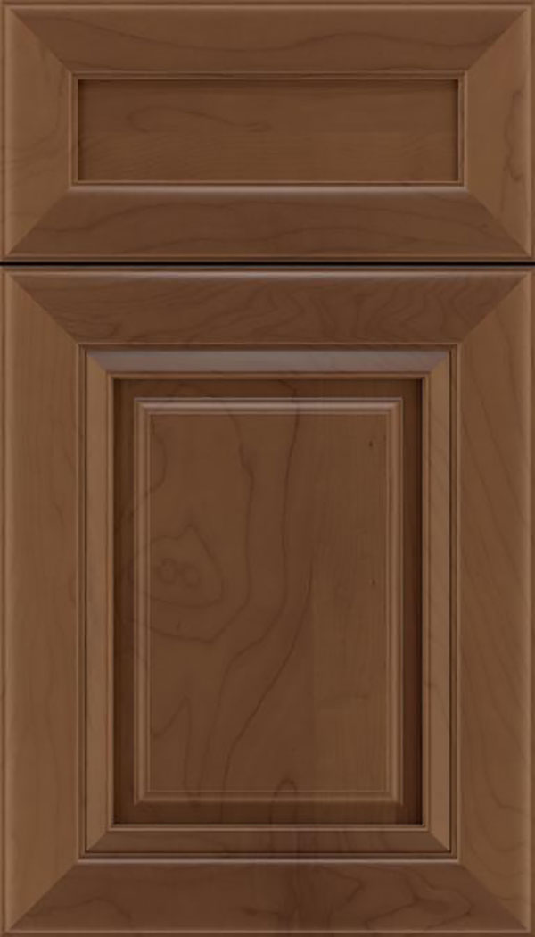 Paxson 5pc Maple raised panel cabinet door in Toffee