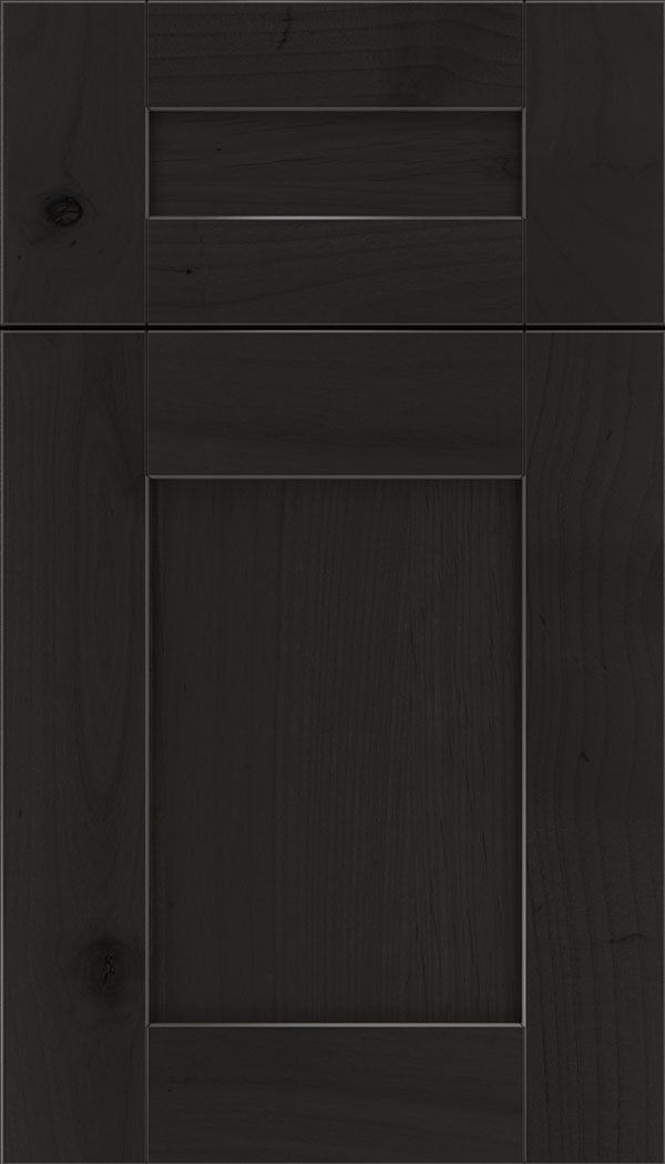 Pearson 5pc Alder flat panel cabinet door in Charcoal
