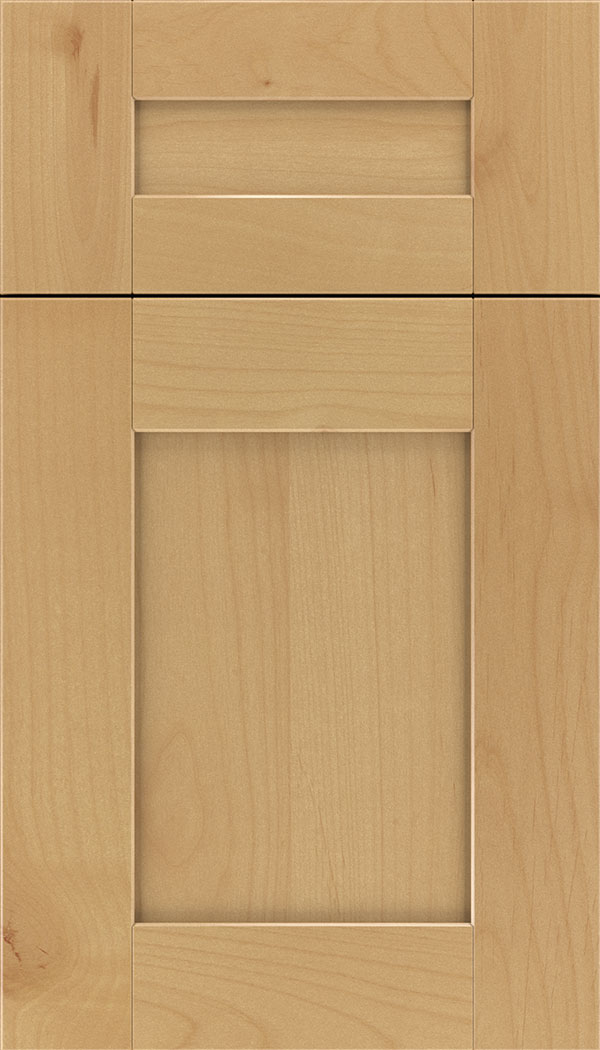 Pearson 5pc Alder flat panel cabinet door in Natural