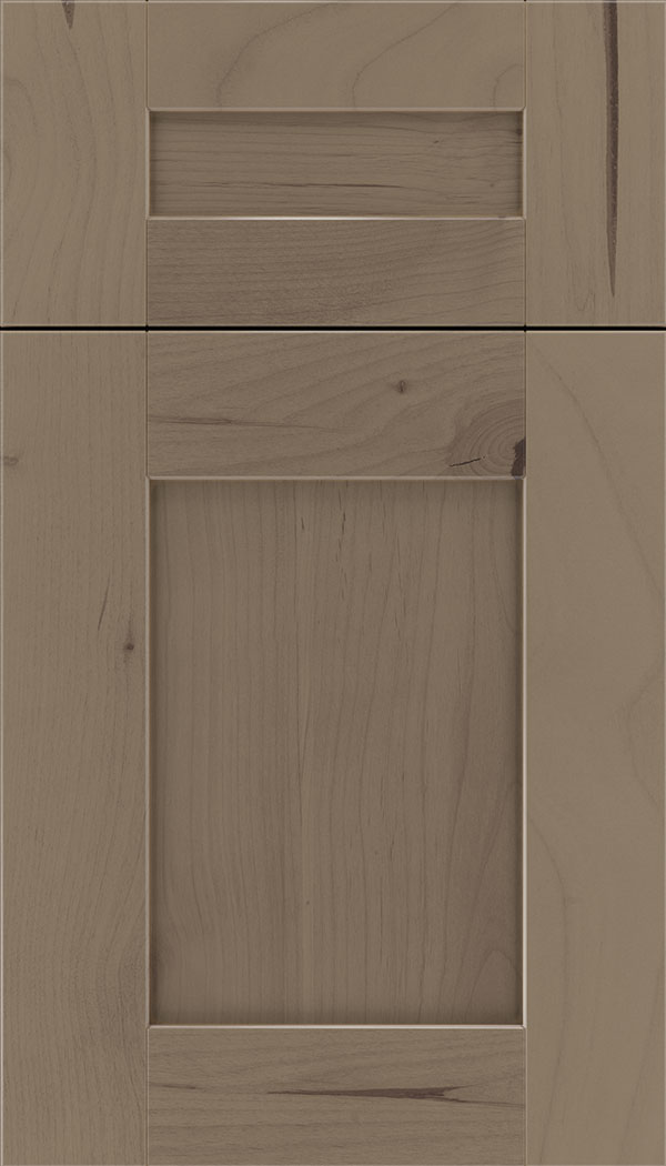 Pearson 5pc Alder flat panel cabinet door in Winter