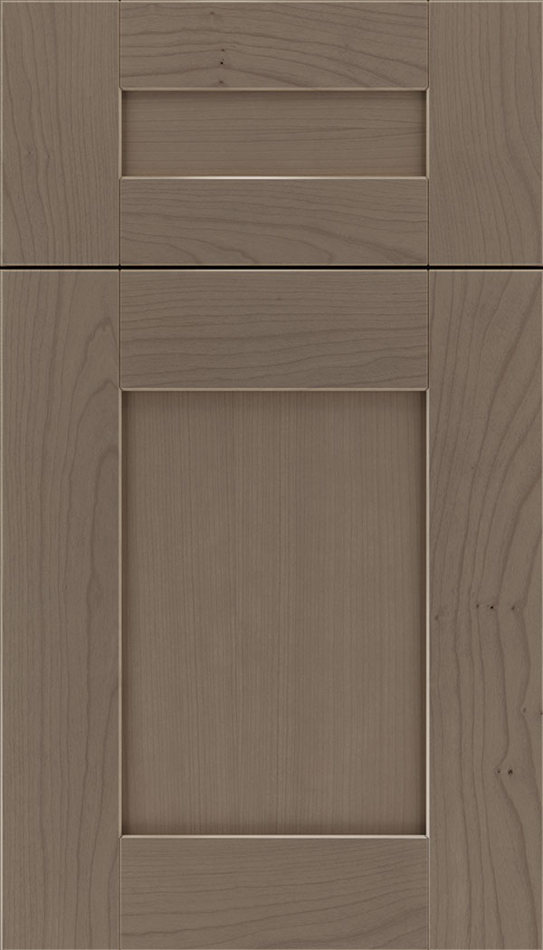 Pearson 5pc Cherry flat panel cabinet door in Winter
