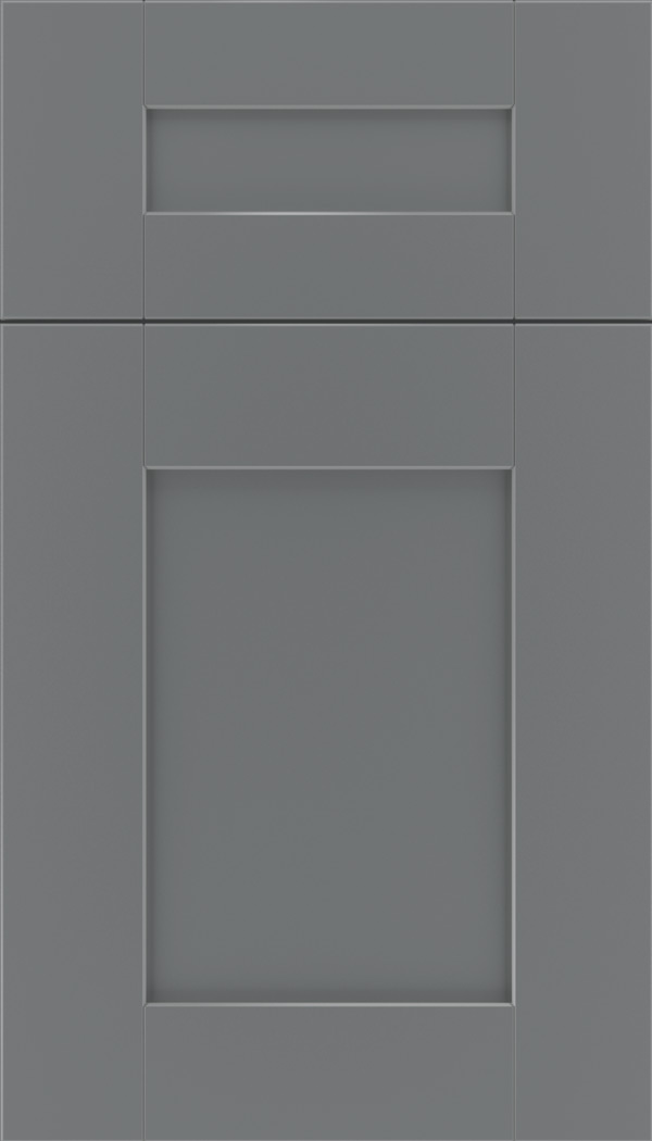 Pearson 5pc Maple flat panel cabinet door in Cloudburst