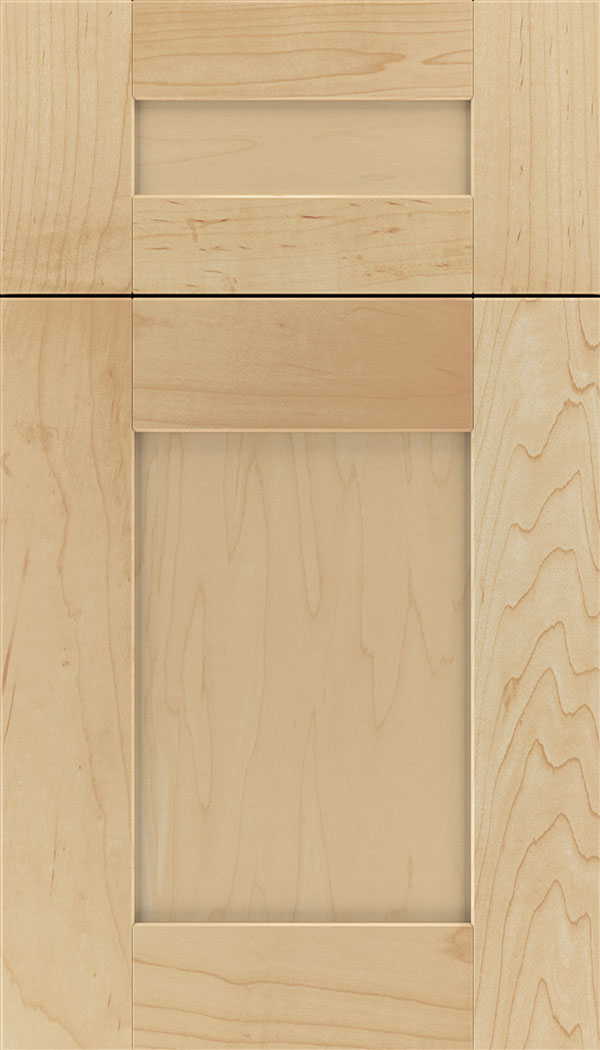 Pearson 5pc Maple flat panel cabinet door in Natural