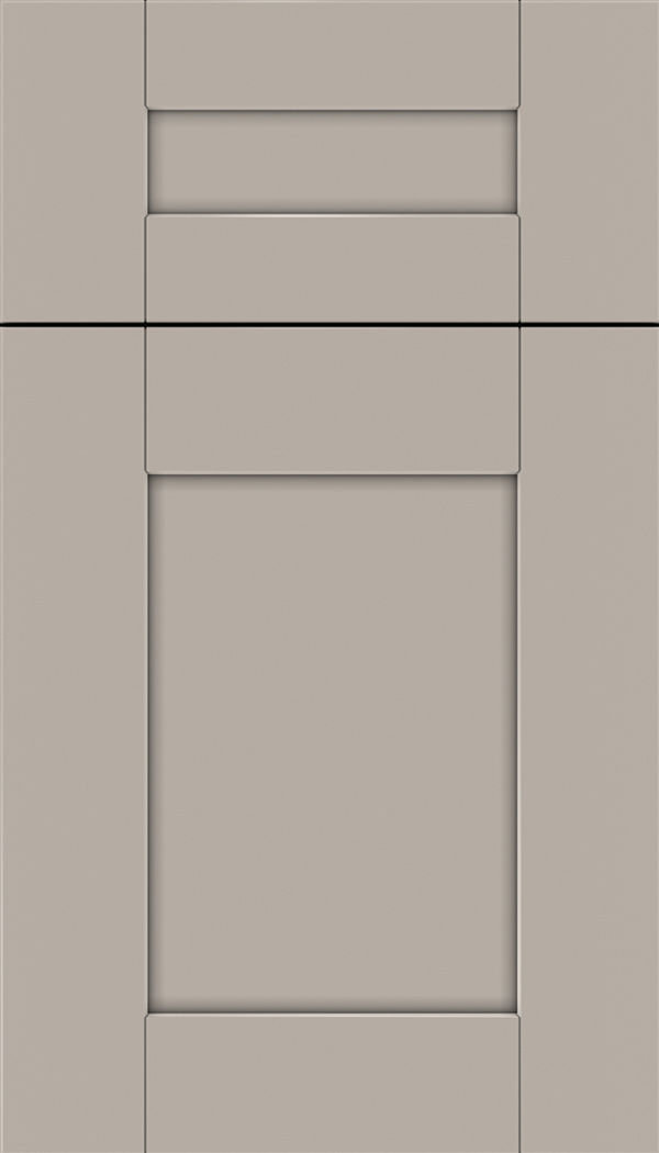 Pearson 5pc Maple flat panel cabinet door in Nimbus