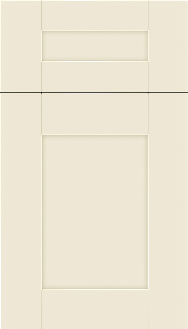 Pearson 5pc Maple flat panel cabinet door in Seashell