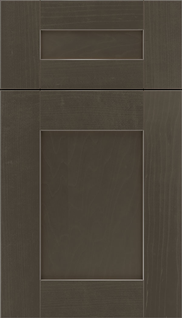 Pearson 5pc Maple flat panel cabinet door in Thunder