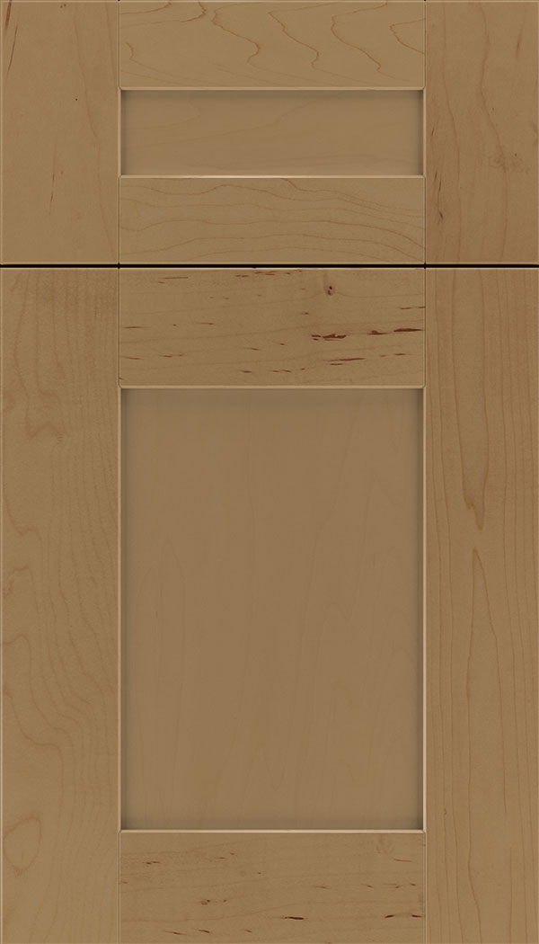 Pearson 5pc Maple flat panel cabinet door in Tuscan