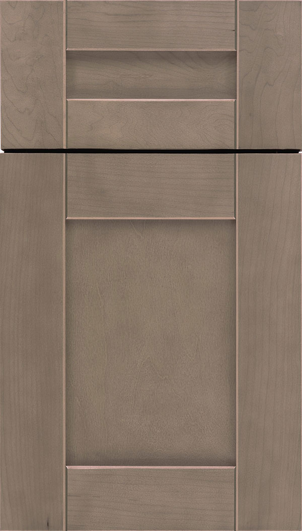Pearson 5pc Maple flat panel cabinet door in Winter