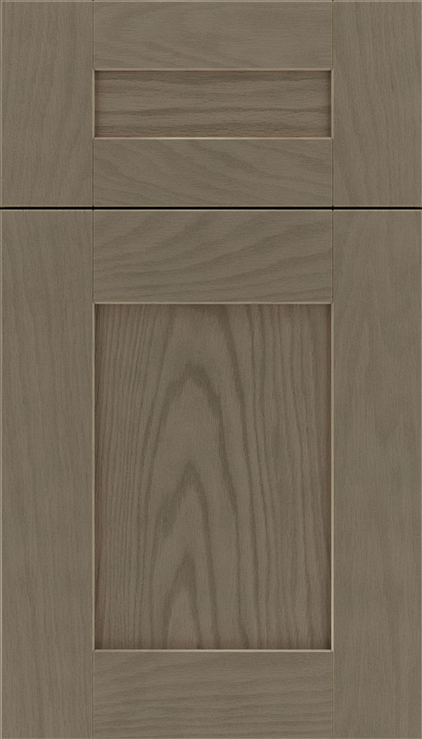 Pearson 5pc Oak flat panel cabinet door in Winter