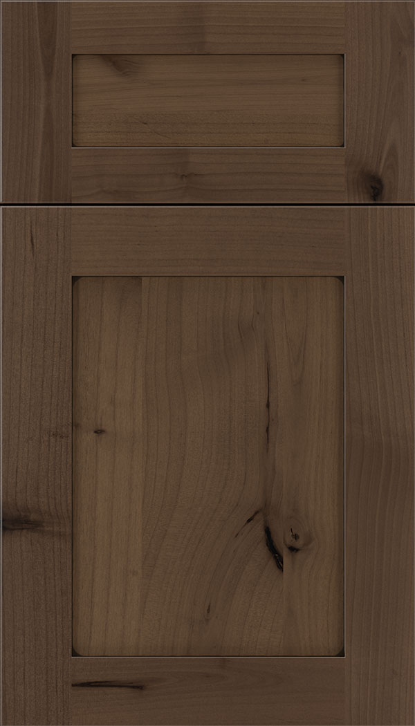 Plymouth 5pc Alder shaker cabinet door in Toffee with Black glaze