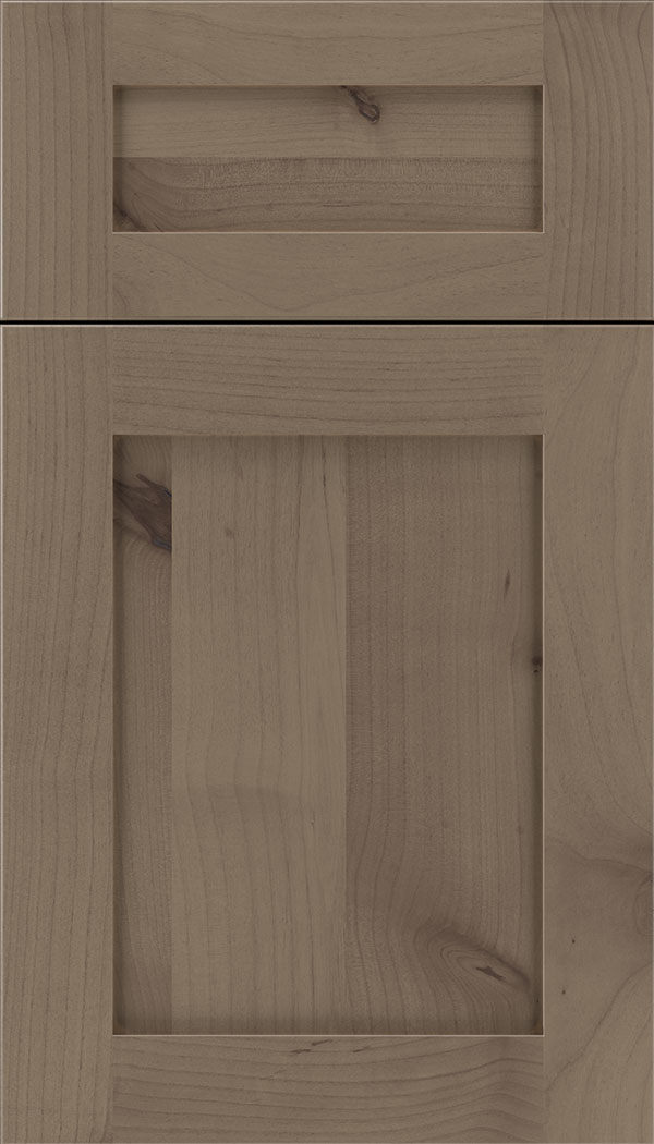 Plymouth 5pc Alder shaker cabinet door in Winter