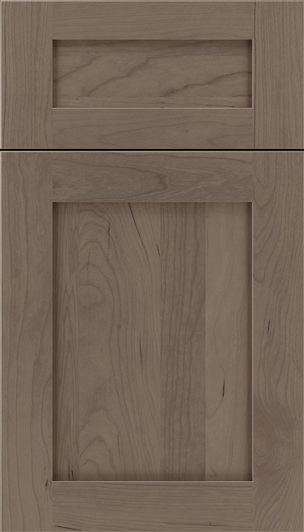 Plymouth 5pc Cherry shaker cabinet door in Winter