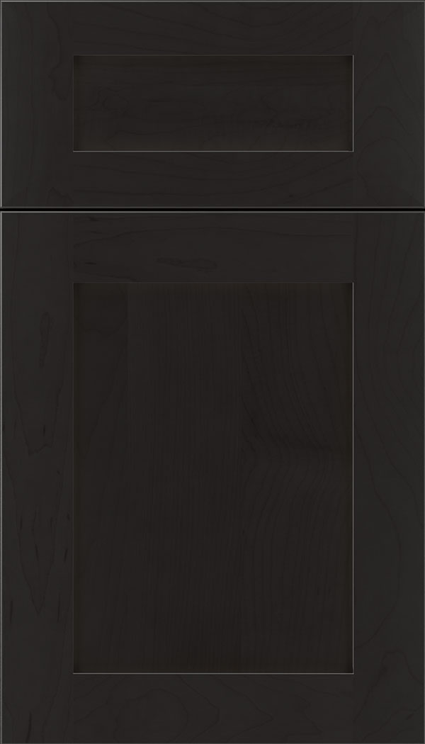 Plymouth 5pc Maple shaker cabinet door in Charcoal