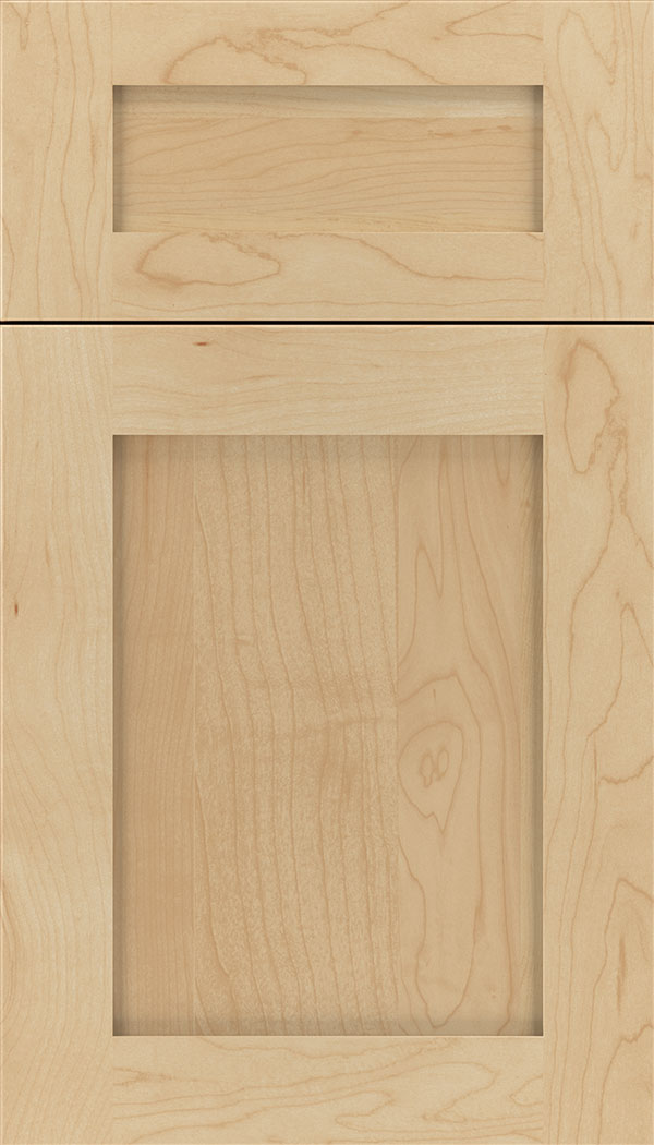 Plymouth 5pc Maple shaker cabinet door in Natural