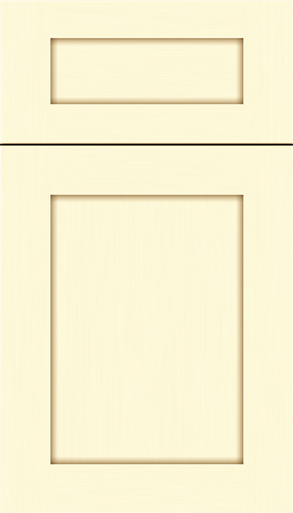 Plymouth 5pc Maple shaker cabinet door in Palomino