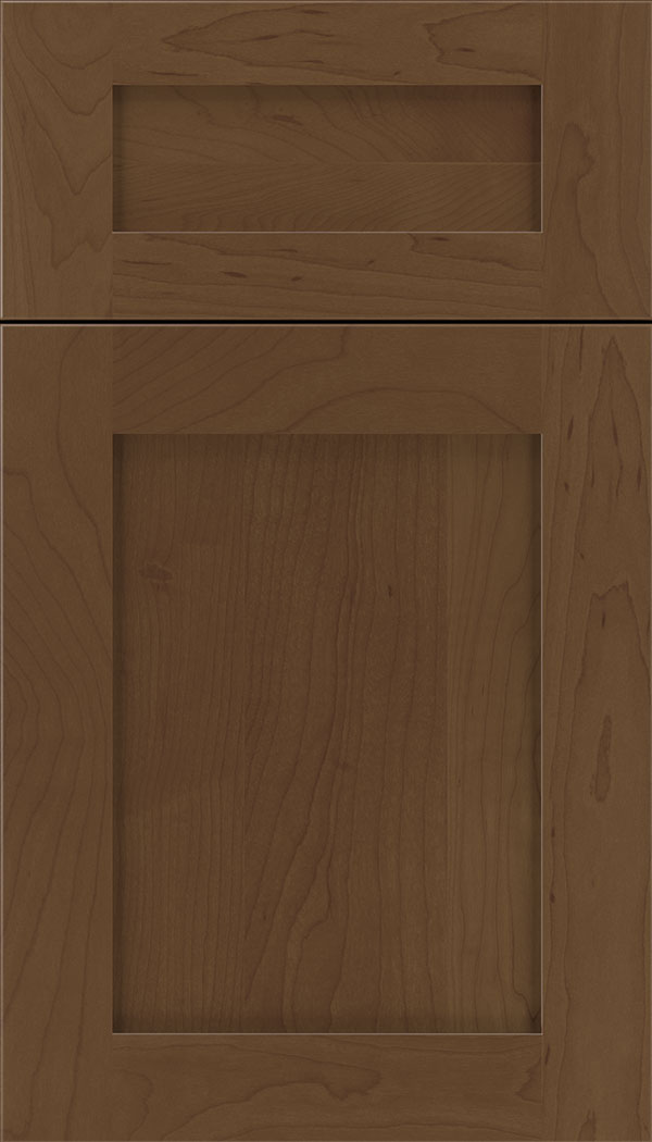 Plymouth 5pc Maple shaker cabinet door in Sienna