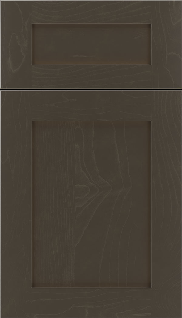 Plymouth 5pc Maple shaker cabinet door in Thunder