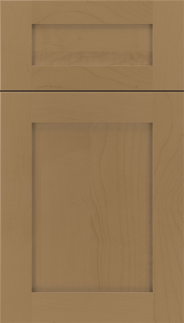 Plymouth 5pc Maple shaker cabinet door in Tuscan