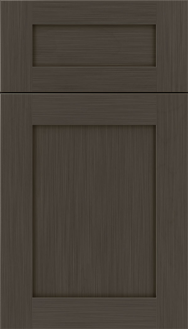 Plymouth 5pc Maple shaker cabinet door in Weathered Slate