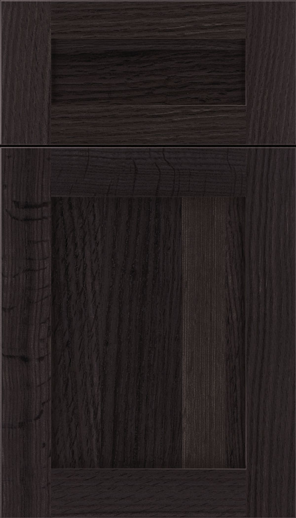Plymouth 5pc Rift Oak shaker cabinet door in Espresso
