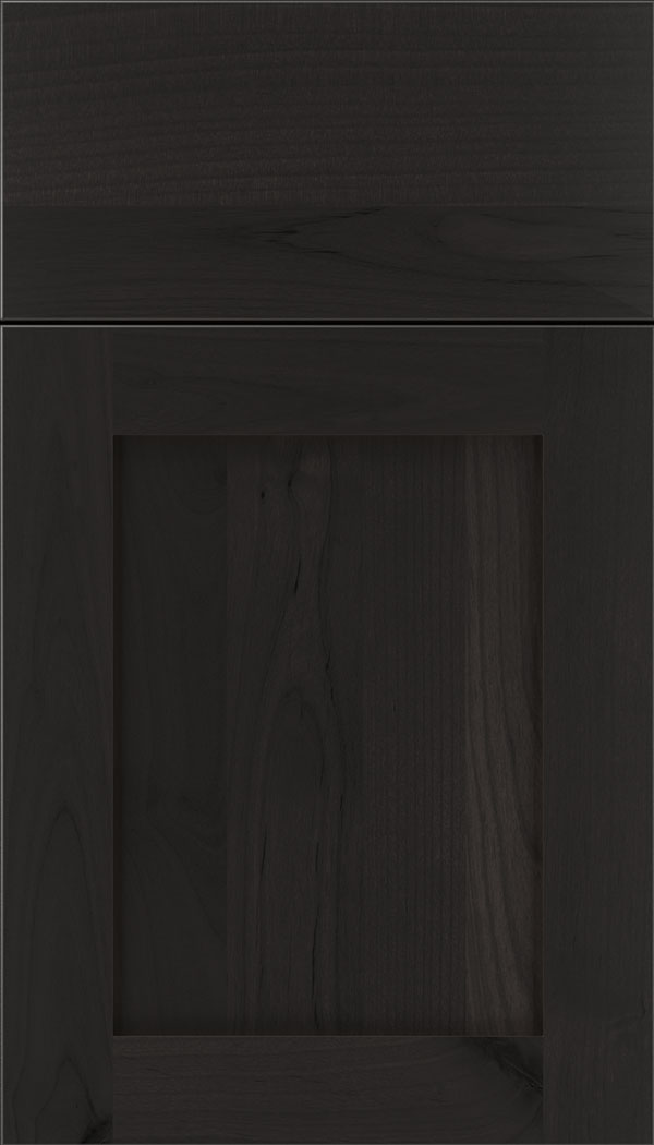 Plymouth Alder shaker cabinet door in Charcoal