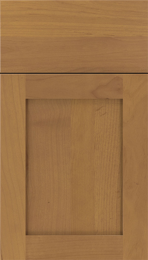 Plymouth Alder shaker cabinet door in Ginger