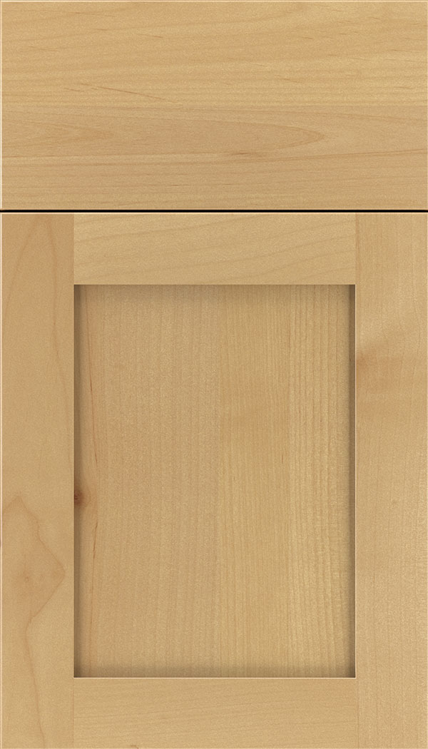 Plymouth Alder shaker cabinet door in Natural