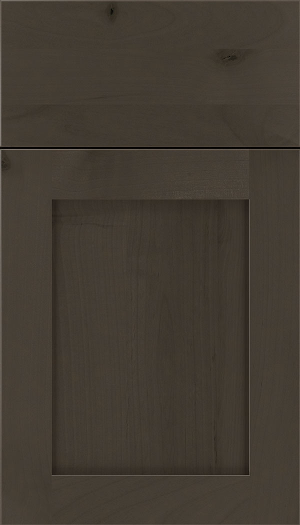 Plymouth Alder shaker cabinet door in Thunder