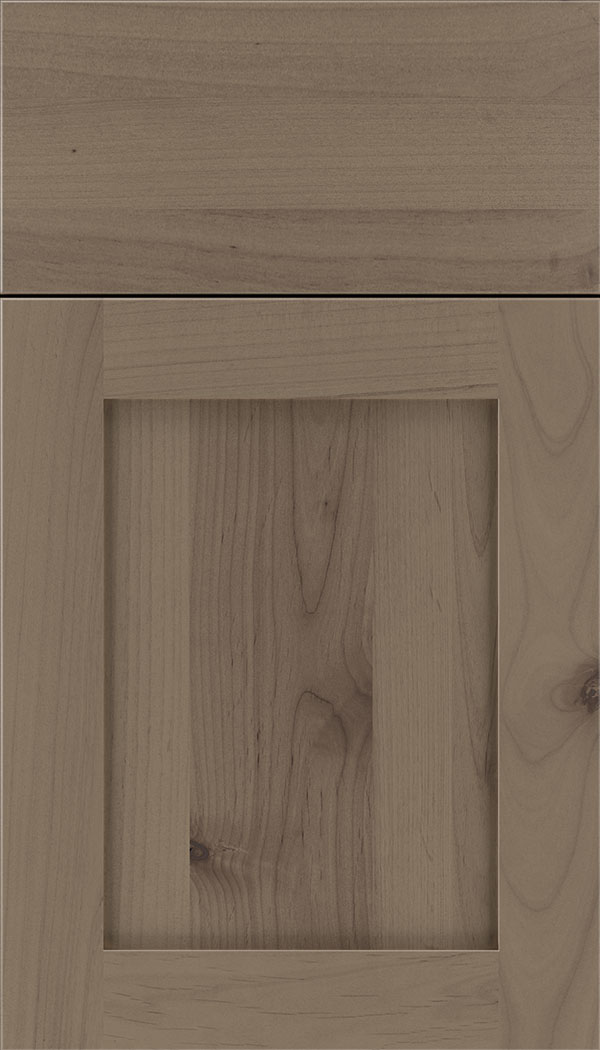 Plymouth Alder shaker cabinet door in Winter